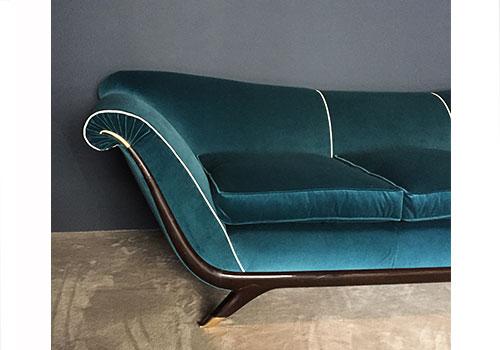 Sedute divano anni 50 for Divano anni 50