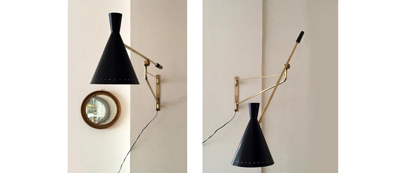 Archivio - Lampada da muro 1948